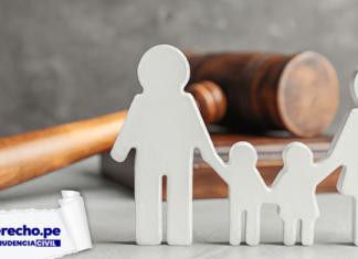 Jurisprudencia civil familia aumento de pensión alimenticia con logo de LP