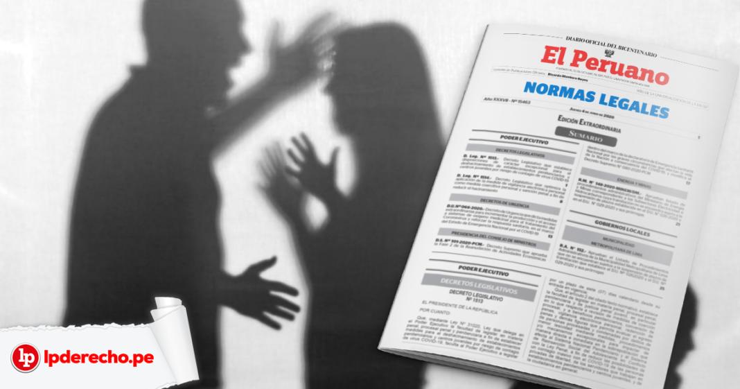 Violencia contra la mujer norma legal - LP