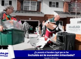 Casación 4-2013-Lima-LP- desalojo casa -LP