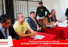 Casacion 601-2019, Lima Norte - detenido audiencia abogados penal LP