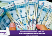 Consulta 303-2020, La Libertad-LP dinero fideicomiso deudas laborales billete cien soles laboral-LP
