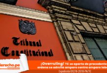 Expediente 01278-2018-PA/TC con logo de jurisprudencia constitucional y LP