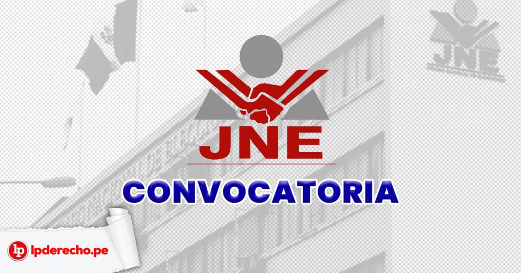 JNE convocatoria - LP