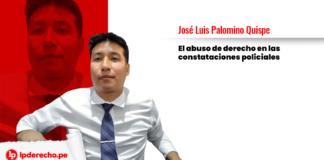 José Luis Palomino Quispe