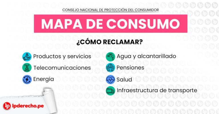 Mapa de consumo: conoce cómo y dónde reclamar