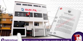 Revise todos los criterios normativos de Sunafil - LP