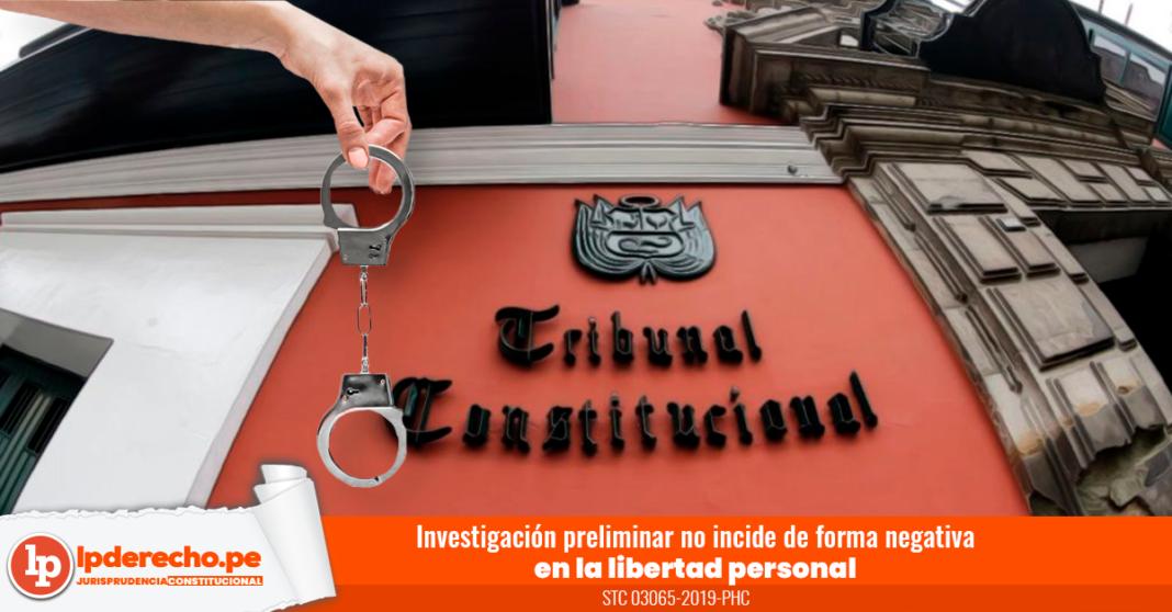 STC 03065-2019-PHC-LP- esposas libertad personal Tribunal Constitucional-logo LP