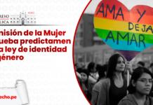 Comision de la Mujer aprueba predictamen de la ley de identidad de genero - LP