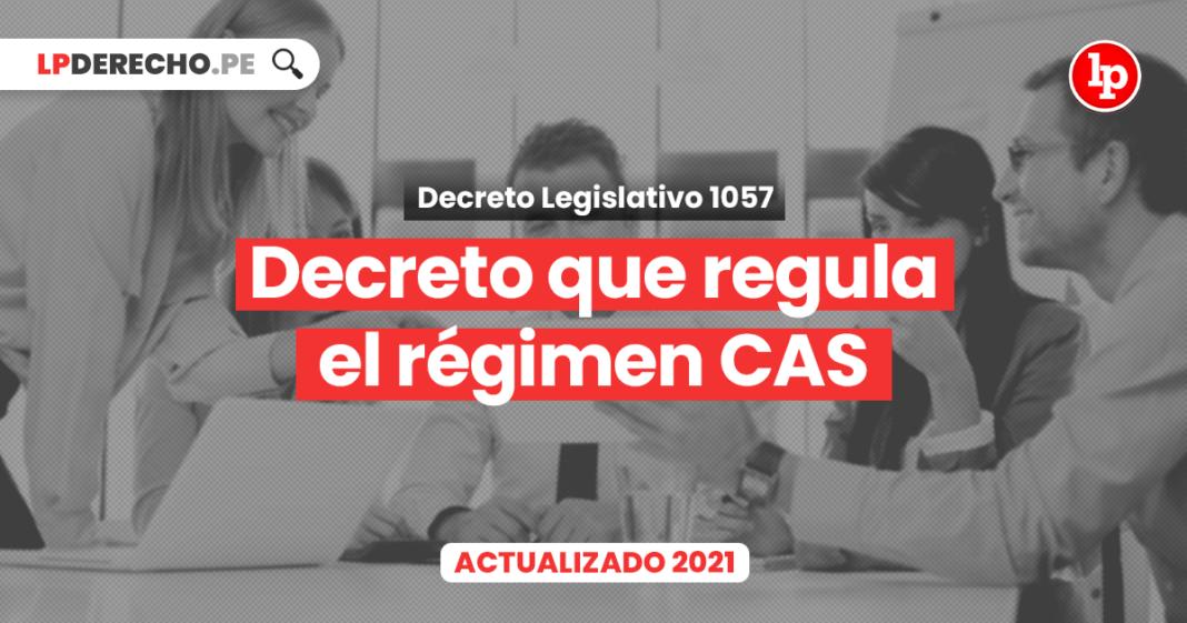 Decreto que regula el régimen de contratación administrativa de servicios (DL 1057)