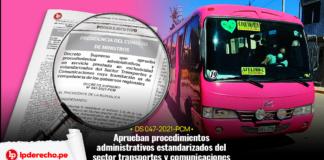 Decreto Supremo 047-2021-PCM con logo de LP