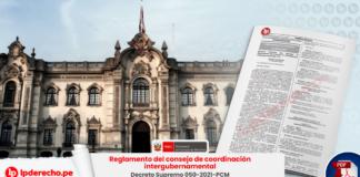 Reglamento del consejo de coordinación intergubernamental (CCI)
