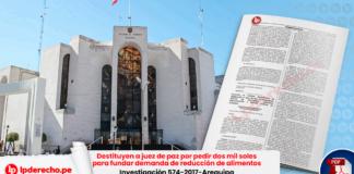 Fachada Poder Judicial Arequipa