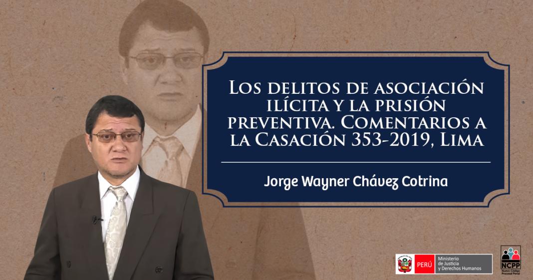 Jorge Wayner Chavez Cotrina - LP