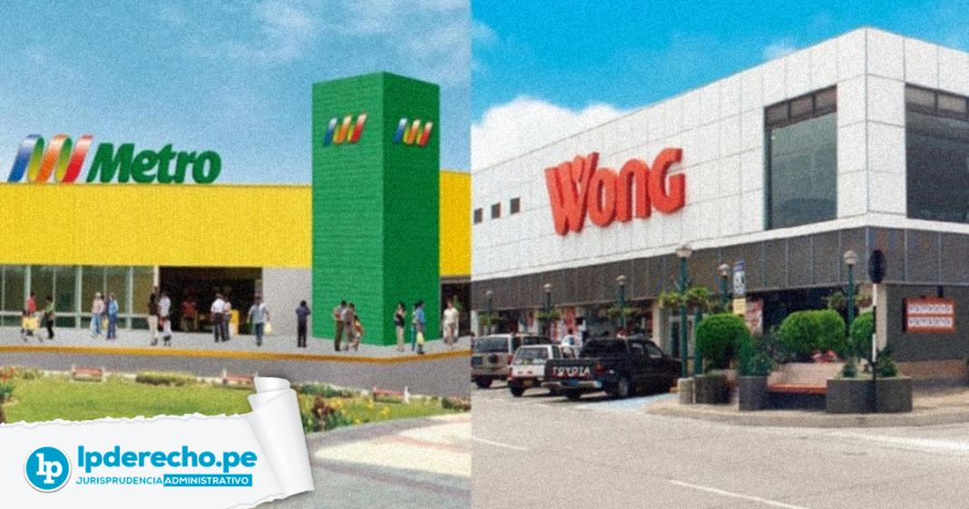 Jurisprudencia administrativa Metro y Wong con logo de LP