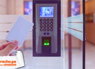 Jurisprudencia constitucional reporte biométrico con logo de LP