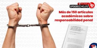 Más de 150 artículos académicos sobre responsabilidad penal de la persona jurídica