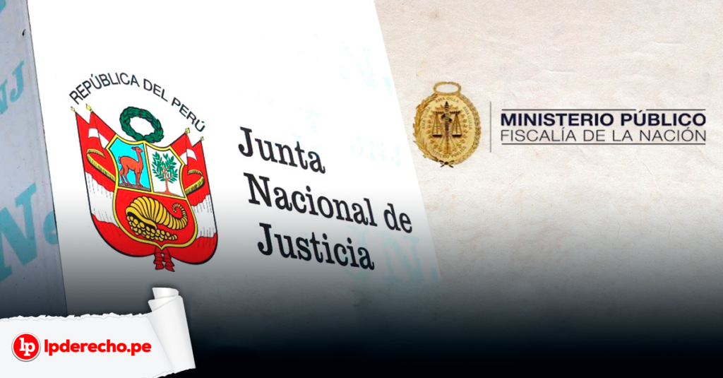 Ministerio Publico - Junta Nacional Justicia con logo LP
