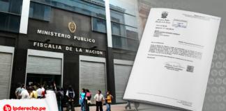 Ministerio publico - Proyecto Ley - LP