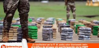 Fuerzas armadas y tráfico de drogas