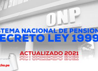 Sistema Nacional de Pensiones - Decreto Ley 19990-LP