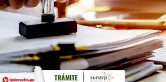 Tramite Sunarp poder con logo de LP