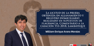 William Enrique Arana Morales - LP