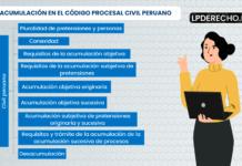 Acumulacion procesal en el Codigo Civil peruano-LP