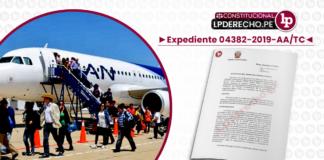 Expediente 04382-2019-AA-TC con logo de LP