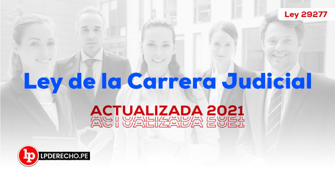 Ley de Carrera Judicial - LP