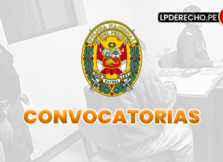 PNP convocatorias con logo de LP