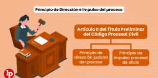 Principio de Dirección e Impulso del proceso: Artículo II del Título Preliminar del Código Procesal Civil