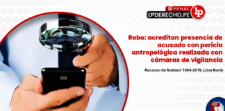 Recurso de Nulidad 1064-2019, Lima Norte - Acreditan presencia de acusado con pericia antropologica - LP