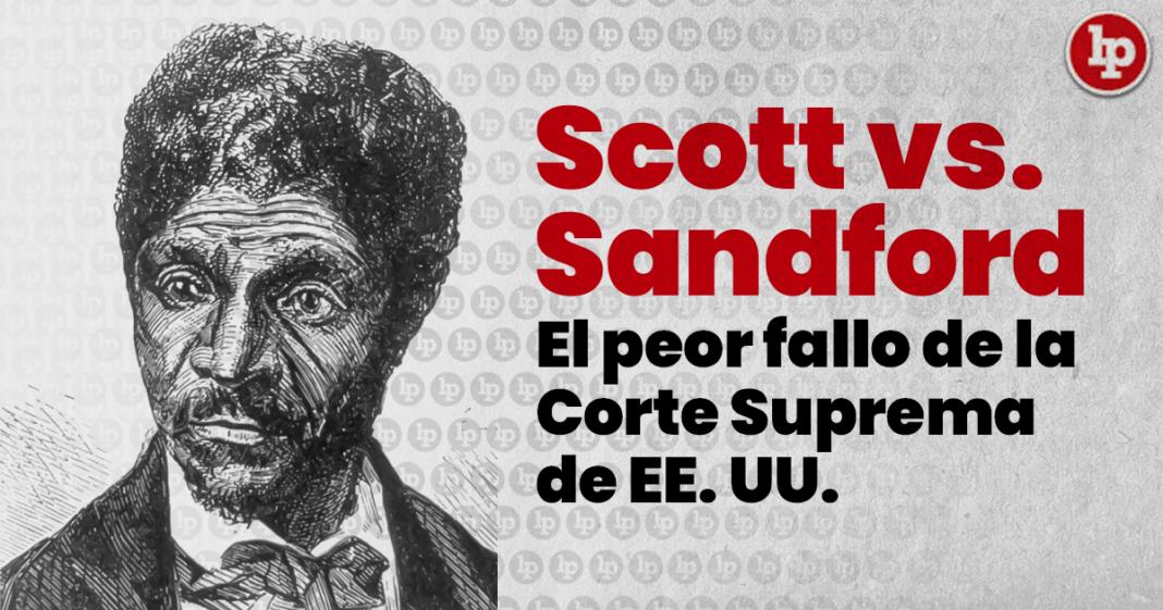 Scott vs Sandford, banner artístico