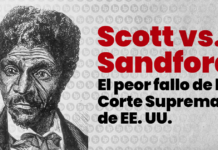 Scott vs Sandford, banner artístico