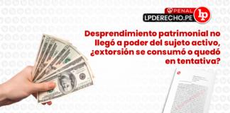 extorsion consumar-penal-LP