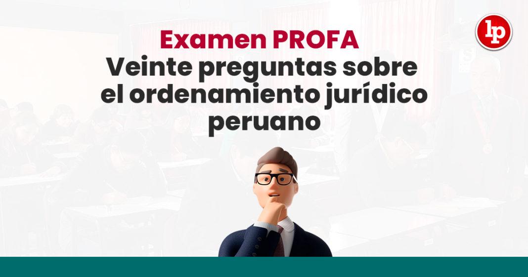 ordenamiento juridico peruano LP
