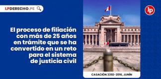 proceso filiacion veiticinco años tramite convertido reto sistema justicia civil