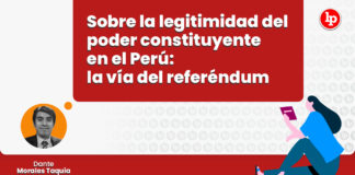 sobre legitimidad del poder constituyente peru via referemdum