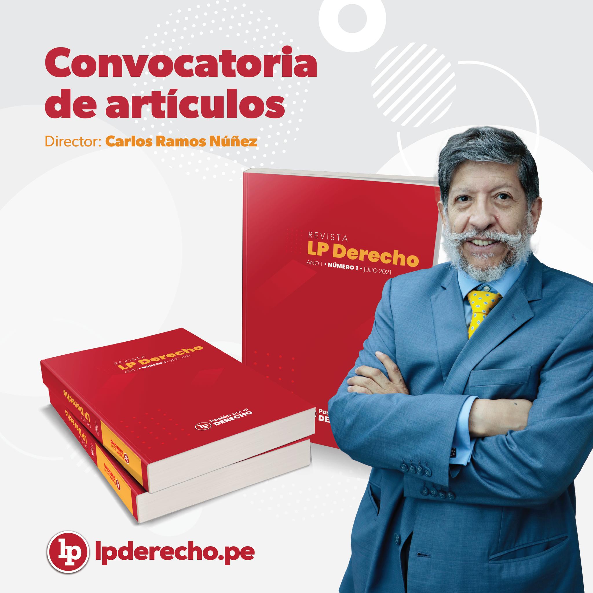 Carlos Ramos Núñez revista LP con logo de LP