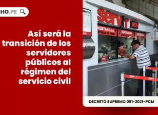 Así será la transición de los servidores públicos al régimen del servicio civil