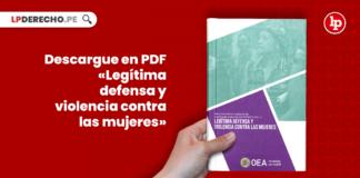 Descargue en PDF «Legítima defensa y violencia contra las mujeres»