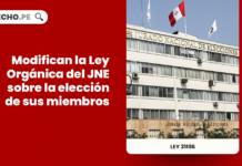 Ley 31196: modifican la Ley Orgánica del JNE sobre la elección de sus miembros