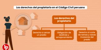 Los derechos del propietario en el Código Civil peruano