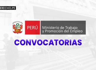 Ministerio de Trabajo convocatorias con logo de LP