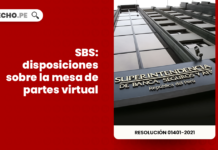 SBS: disposiciones sobre la mesa de partes virtual