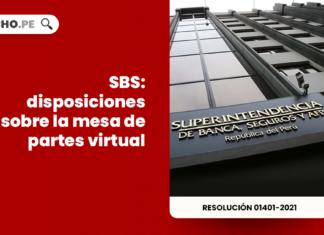 SBS: disposiciones sobre la mesa de partes virtual