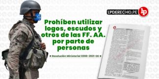 Resolucion Ministerial 0200-2021-DE con logo de LP