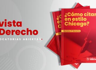 Revista LP Derecho   ¿Cómo citar correctamente en estilo Chicago?