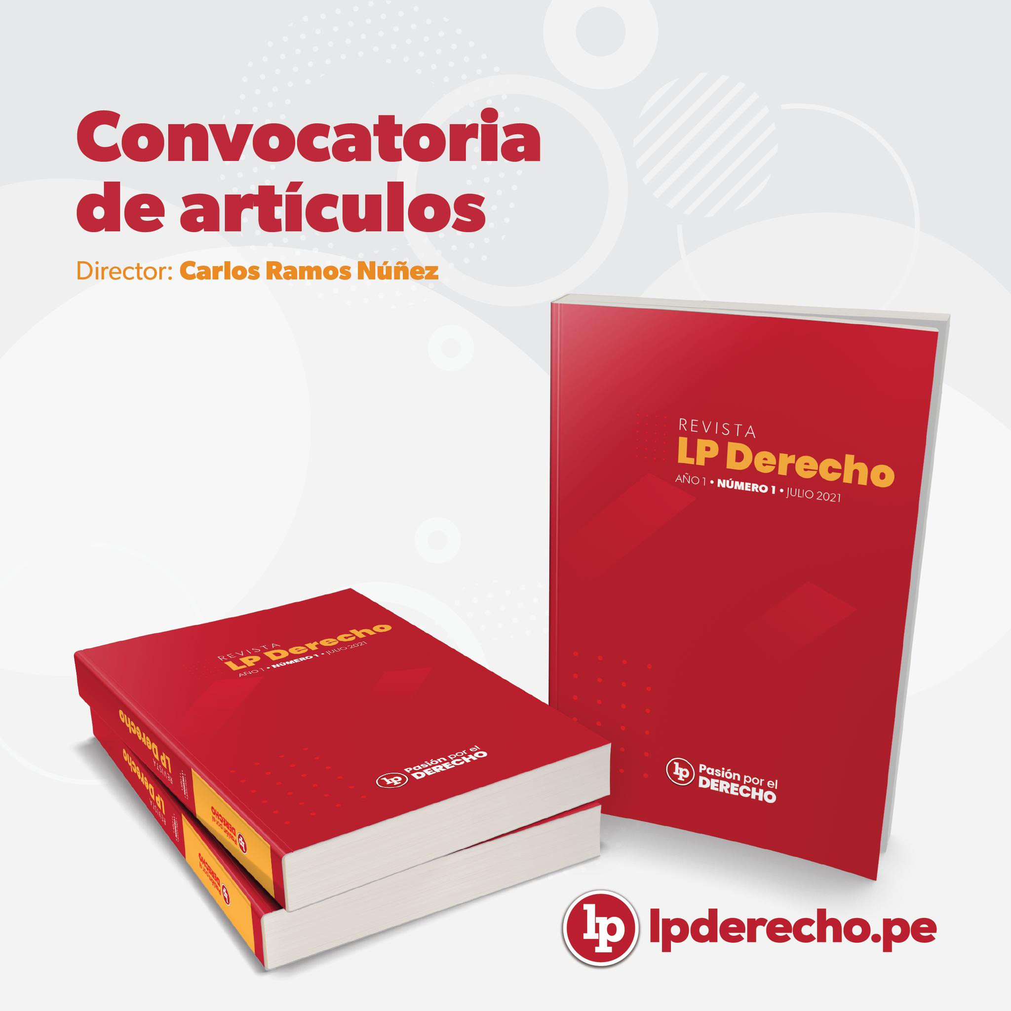 CONVOCATORIO DE ARTÍCULOS LP