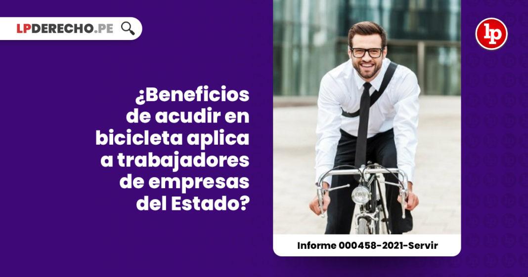 beneficios-acudir-bicicleta-trabajadores-empresa-estado-informe-000458-2021-servir-LP